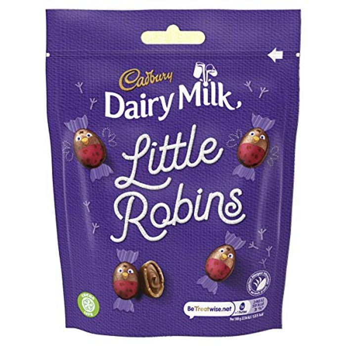 Cadbury`s Dairy Milk Little Robins Bag 88g