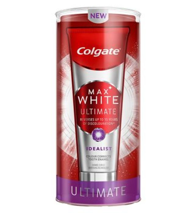 Colgate Max White Ultimate Idealist Whitening Toothpaste 75ml