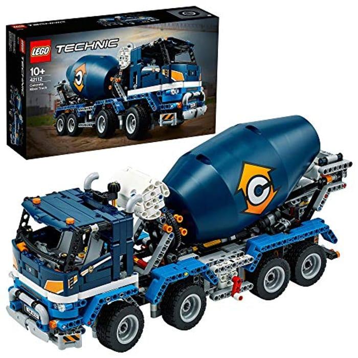 SAVE £18 - LEGO TECHNIC - Concrete Mixer Truck (42112)