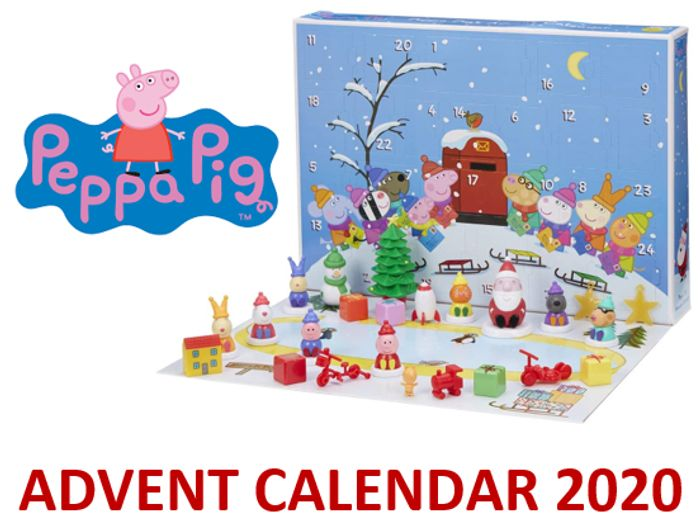 Peppa Pig Advent Calender 2020 + Free Delivery with Prime