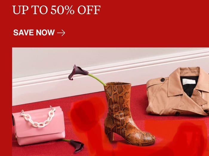Up to 50% off Sale at Zalando