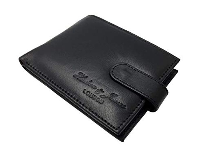CHEAP! Hudson & James London Real Leather Mens Wallet