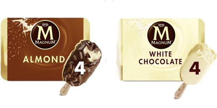 Magnum Ice Cream's Clubcard Prices £1.60 All Varieties