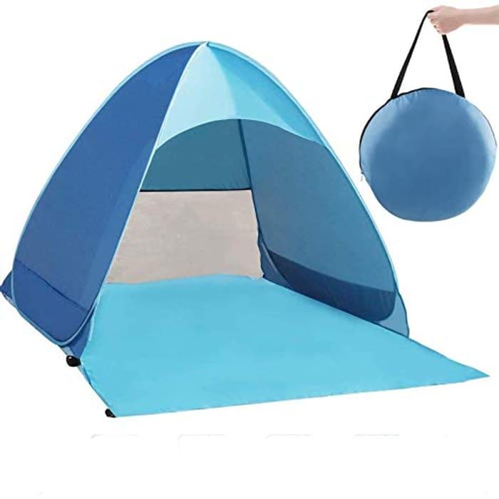 Zenoplige Pop up Tent, Foldable Outdoor UV Lightweight Waterproof Tent