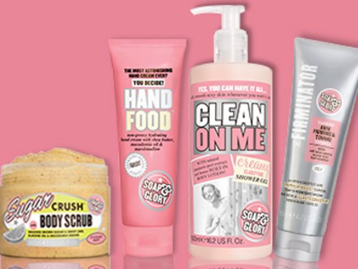 Free Soap and Glory Bright and Beautiful Sheet Mask Spend £15 Soap and Glory