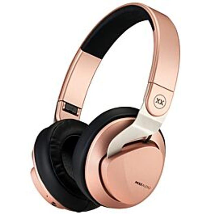 CHEAP! Mixx JX2 Bluetooth Wireless Over-Ear Headphones - Rose Gold