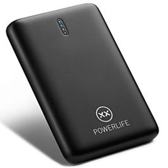 Cheap MIXX PowerLife PowerUp 2 Power Bank 5,000mAh - Black with 50% Discount!