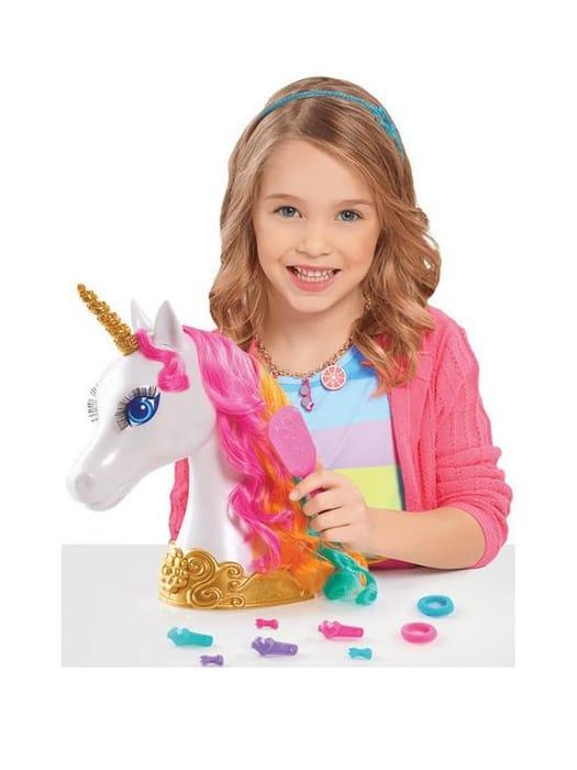 *SAVE £5* Barbie Dreamtopia Unicorn Styling Head