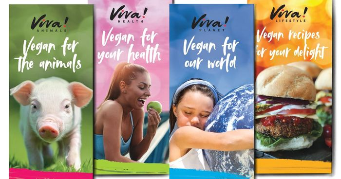 Free Set of Viva! Vegan Leaflets