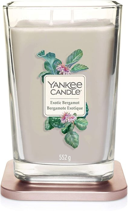 Yankee Candle Elevation Collection - Large Two Wick - EXOTIC BERGAMONT