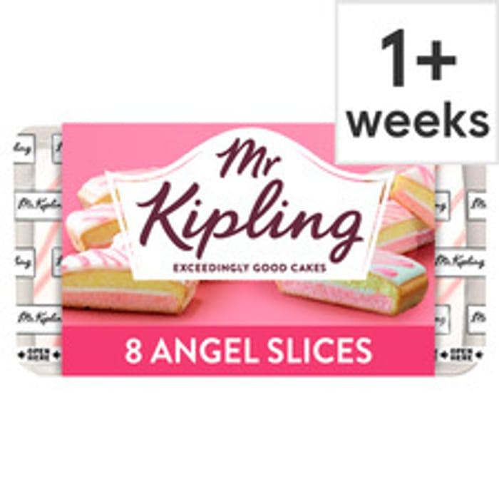 Mr Kipling 8 Angel Slices Slices Clubcard Price £1.15