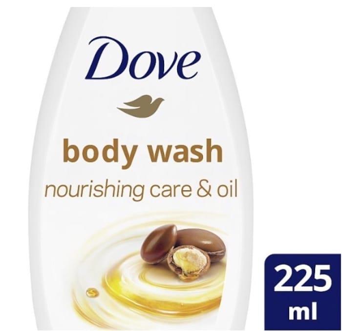 Dove Nourishing Care & Argan Oil Shower Wash 225ml