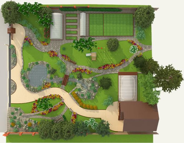Free Garden Lighting Cable Planning Service