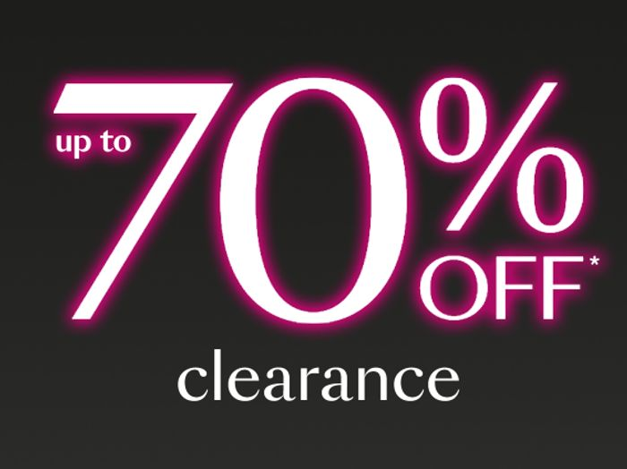 Debenhams Up To 70% Off Clearance Min 50% Off!