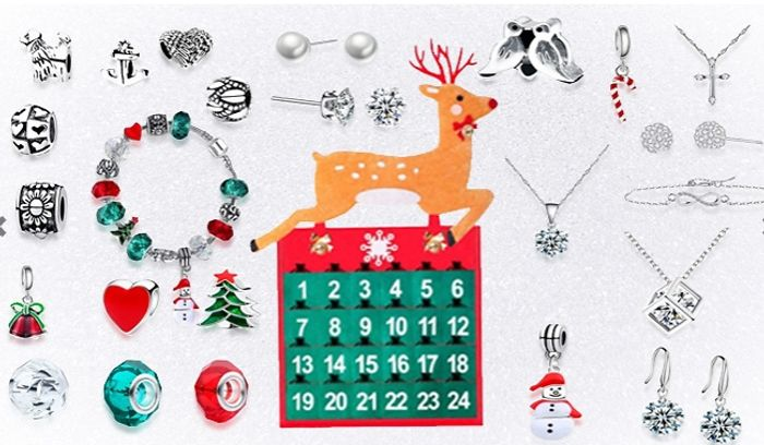 24-Day Jewellery Advent Calendar + EXTRA 10% Off