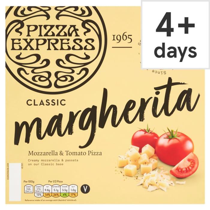Pizza Express Margherita Pizza 245G CLUB CARD PRICE 4 VARIETIES