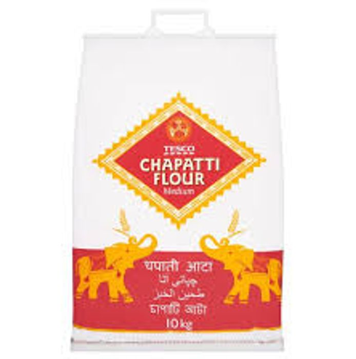 Tesco Medium Chapatti Flour 10Kg - Only £3.5!