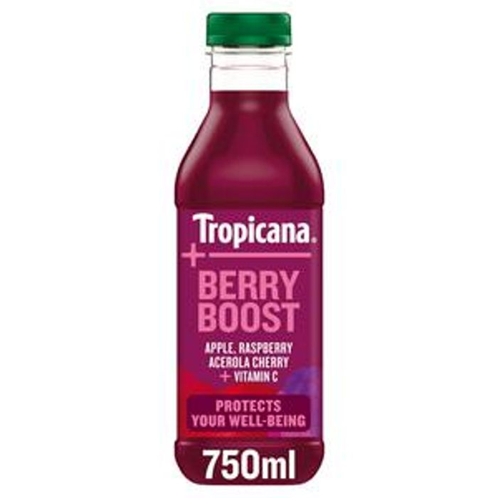 Tropicana Essentials Berry Boost Juice 750ml