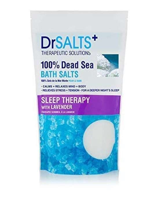 Dr SALTS Dead Sea Bath Salts Sleep Therapy with Lavender, 1 Kg - Only £2.5!