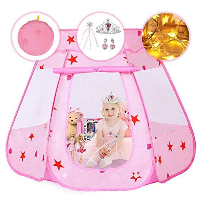 Pickwoo Kids Play Princess Tent Toy - Only £16.99!