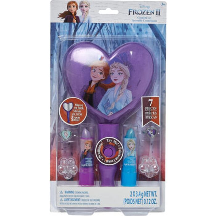 DISNEY Purple Frozen II Mirror & Dress up Kit