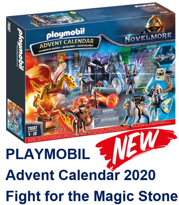 NEW Playmobil Advent Calendar 2020 - Fight for the Magic Stone - (70187)