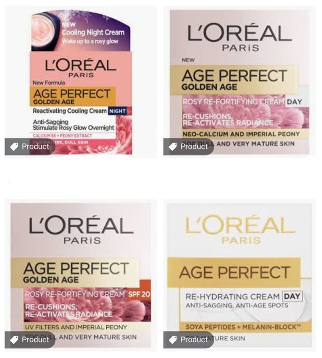 L'oreal Paris Age Perfect Cream All Varieties Clubcard Prices