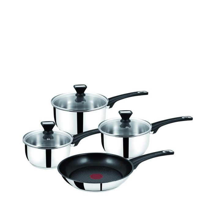 Jamie Oliver - Stainless Steel 4 Piece Set Jamie Oliver Premium Cookware Set