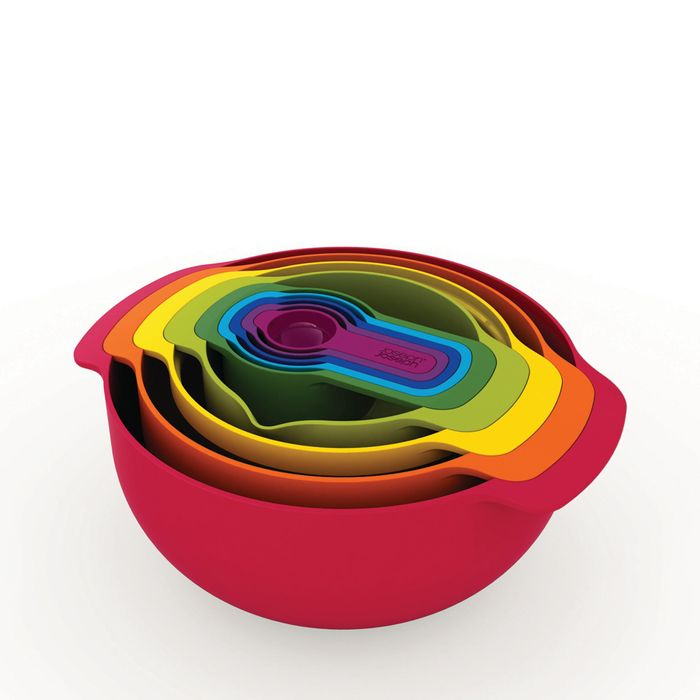 Joseph Joseph - 9 Piece Multi-Coloured 'Nest 9 Plus' Food Preparation Set