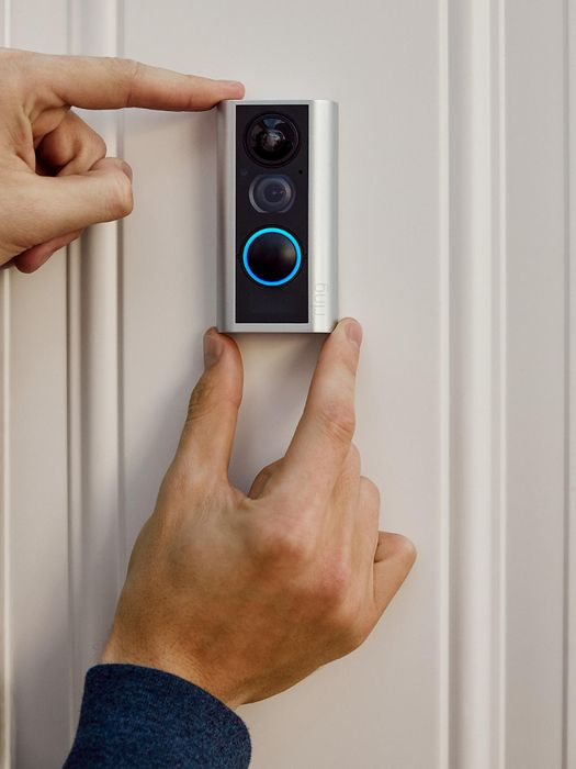 Ring Smart Doorbell With Wi-Fi & Camera - £89