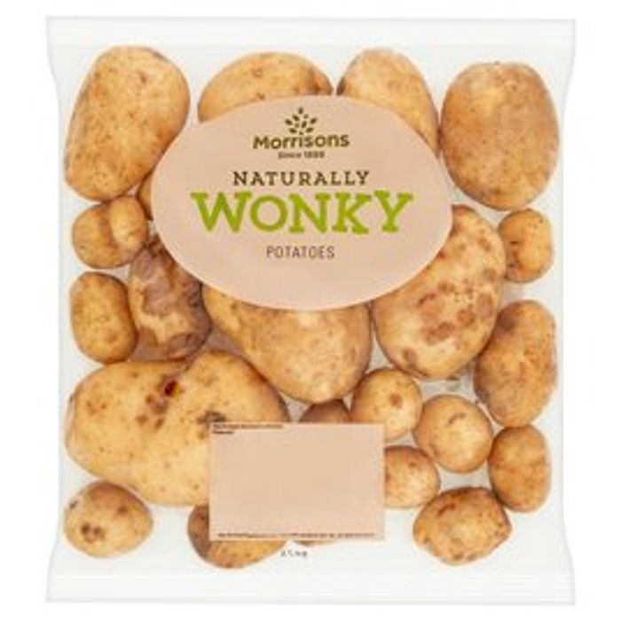 Morrisons Wonky Potatoes - Only £0.8!