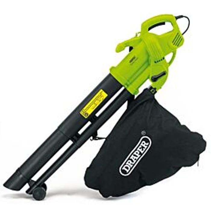 Draper 3000W 3-in-1 Garden Vacuum