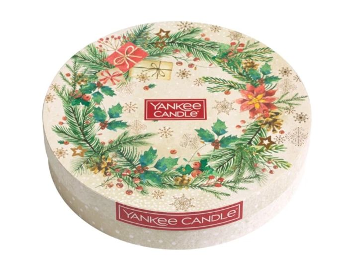 Yankee Candle Christmas Morning Tea Light Delight Gift Set