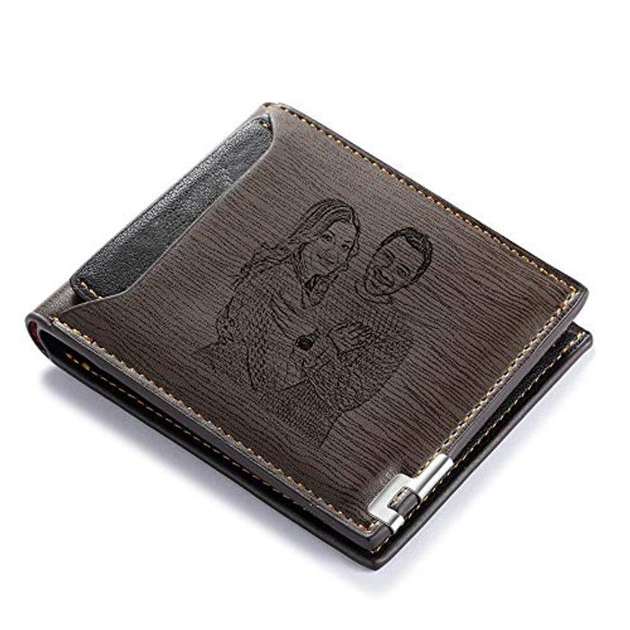 DEAL STACK - Personalised Photo Wallets for Men Photo + 20% Coupon