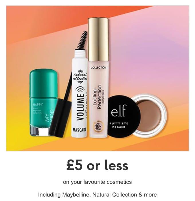 Makeup £5 or Less