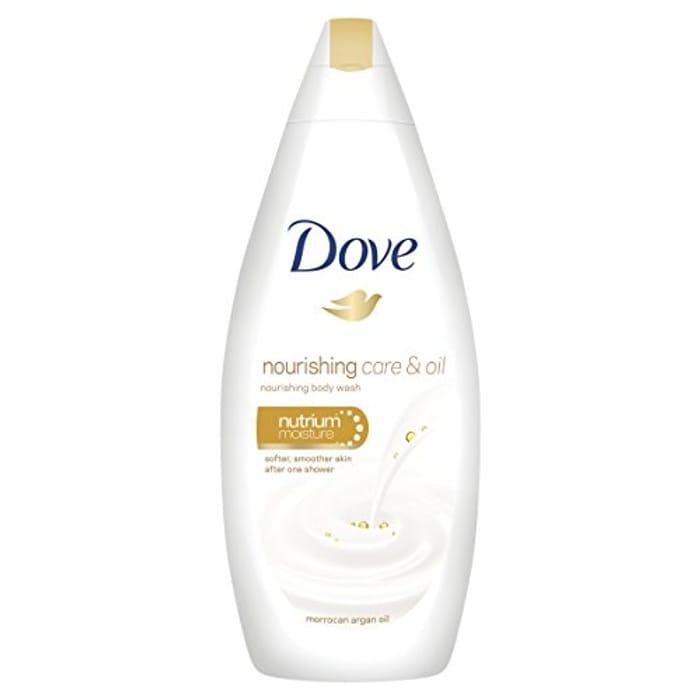 Dove Nourishing Care and Oil Body Wash, 250 Ml