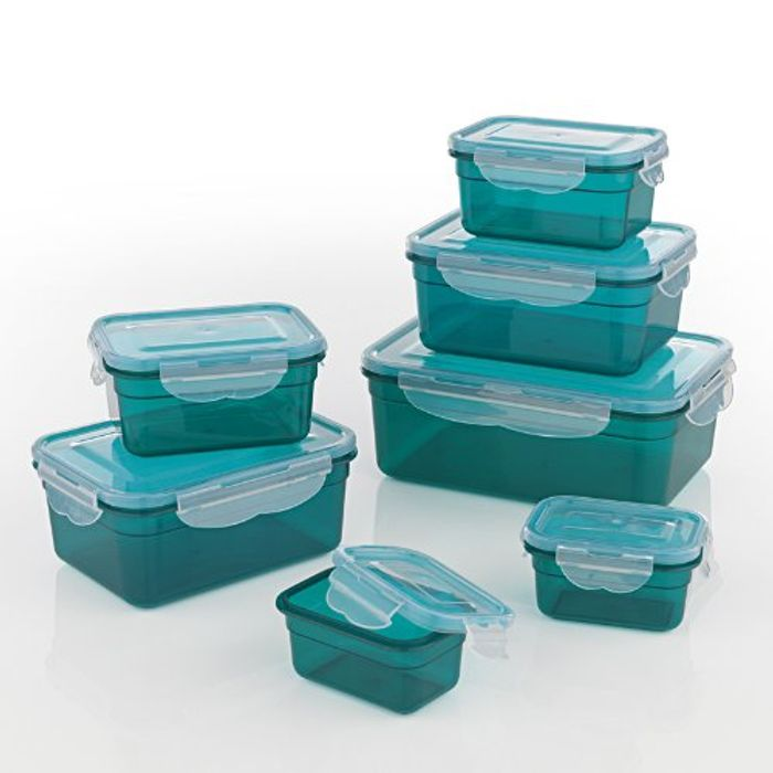 Price Drop! GOURMETmaxx Set of 7 Food Containers BPA Free Incl. Lid