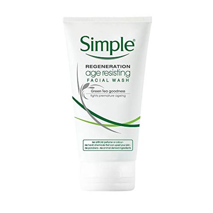Simple Regeneration Age Resisting Facial Wash 150 Ml
