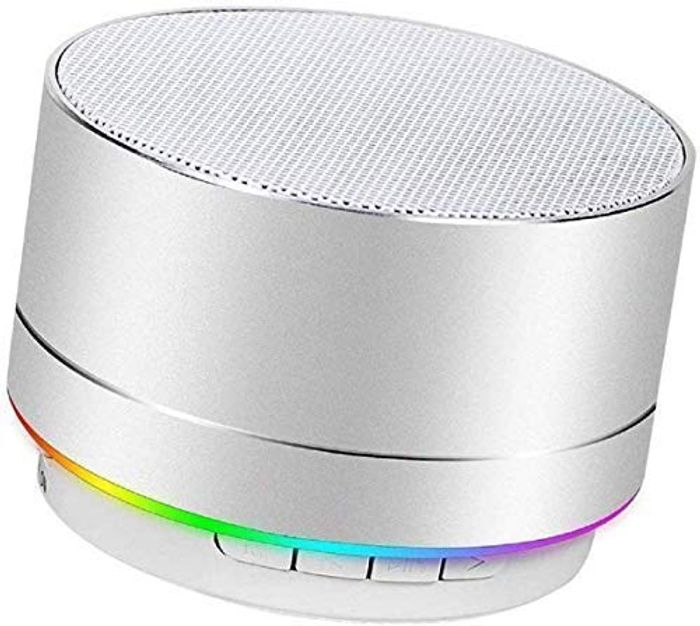 Portable Bluetooth Speaker with Powerful Bass