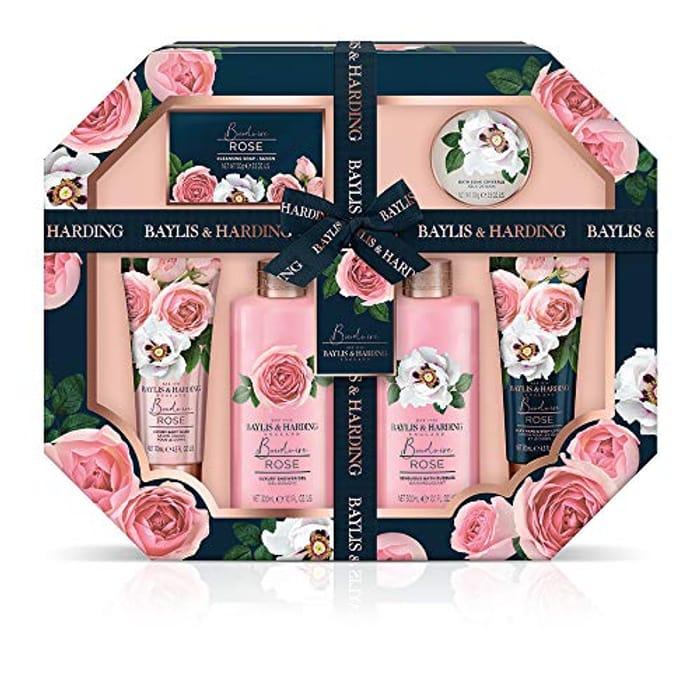 Baylis & Harding Boudoire Rose Ultimate Bathing Gift Set