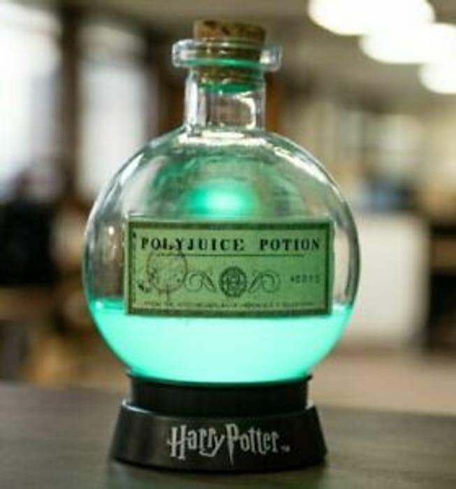 HARRY POTTER Magic POTION LAMP Colour Changing Night Light POLYJUICE POTION
