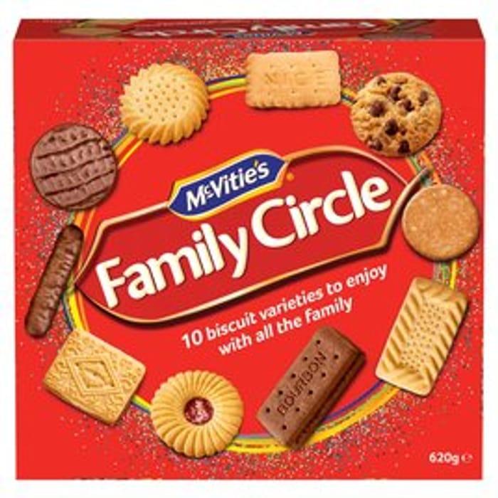 McVitie's Family Circle - Buy 1 Get 1 Free