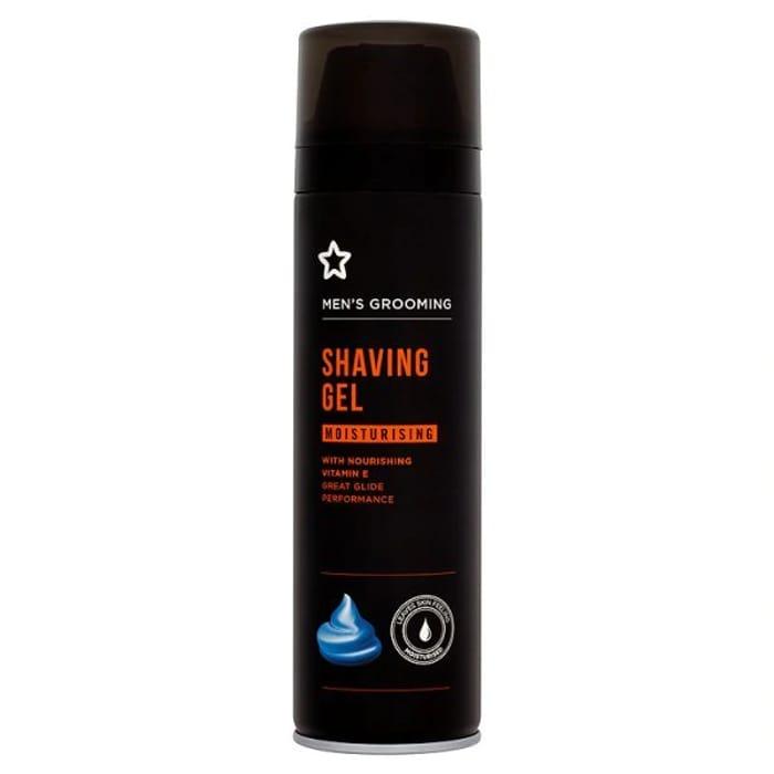 Superdrug Mens Moisturising Shave Gel