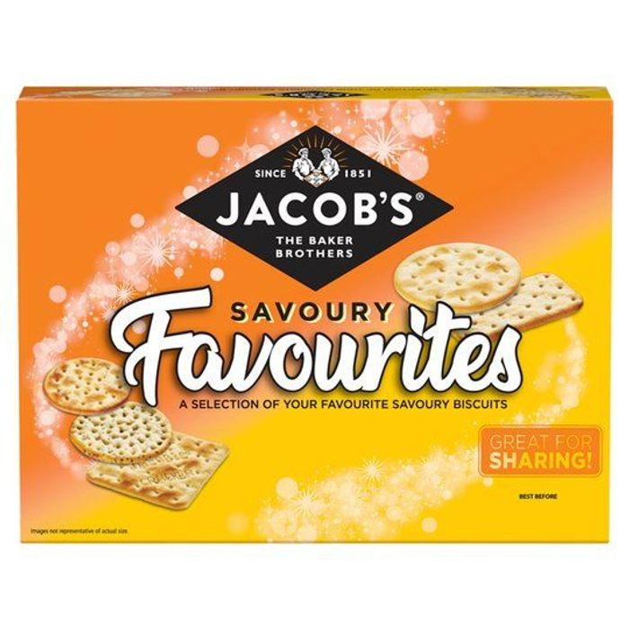 Jacob's TUC Savoury Favourites Baked Cheddars Cheese Biscuits 200g