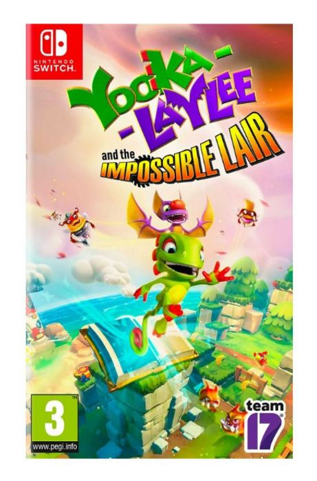 Yooka Laylee and the Impossible Lair (Switch) - Only £14.95!
