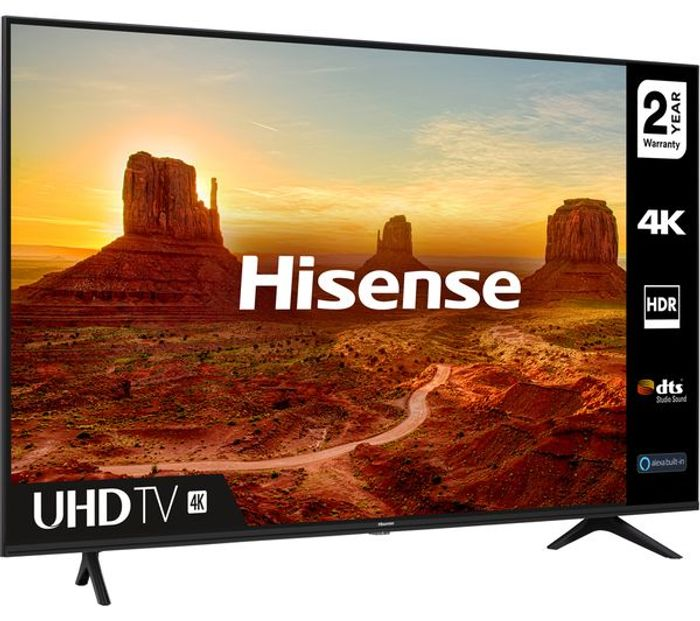 "*SAVE over £100* HISENSE 58"" Smart 4K Ultra HD HDR LED TV"