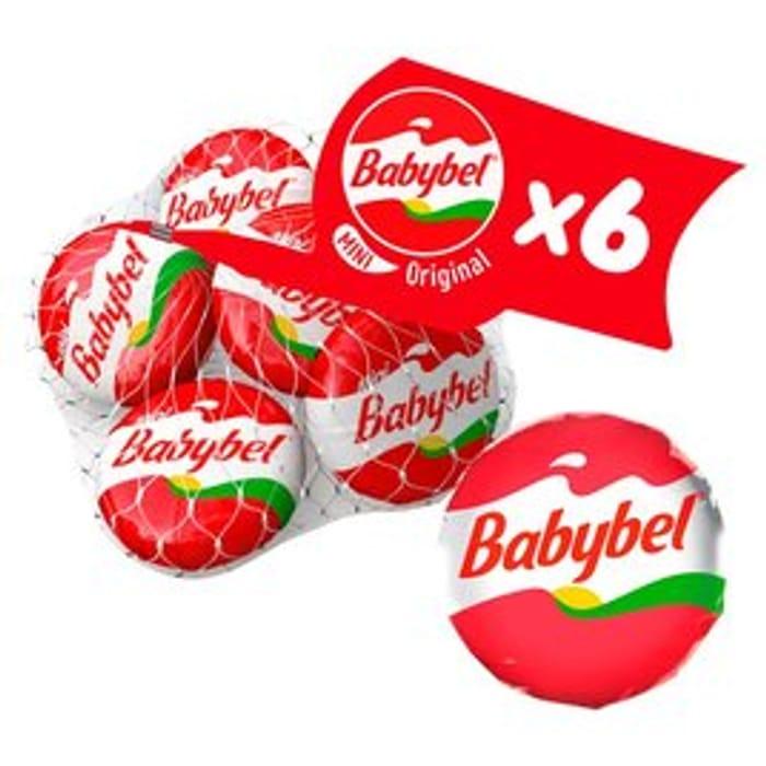 Mini Babybel Original 6 X 20g
