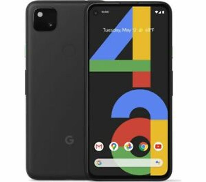 """Google Pixel 4a 128GB 5.8"""" SIM-Free Android Smartphone - £331.55"""