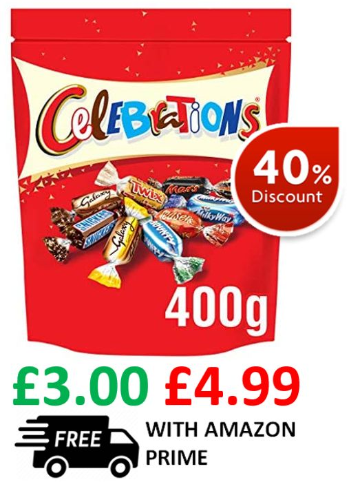 Celebrations Chocolate Sharing Pouch 400g