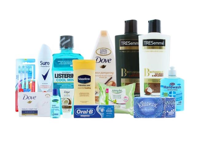 14-Piece Toiletries Bundle - Tresemme, Dove, Vaseline & More